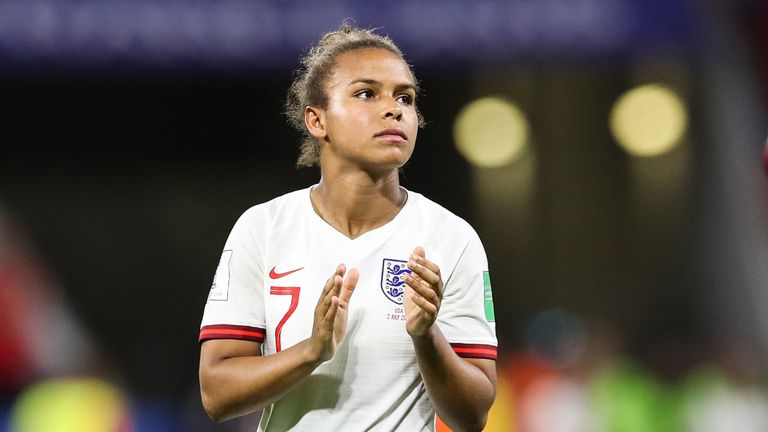 England's Nikita Parris has recently set up an Academy in her home town of Toxteth to inspire youngsters