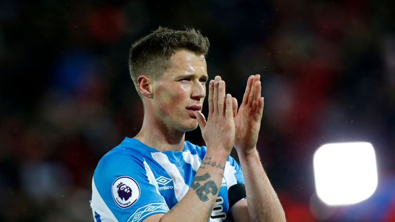 Erik Durm spent one year at Huddersfield, making 28 appearances across all competitions