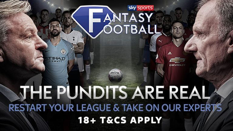 Create a league and challenge your mates within Sky Sports Fantasy Football