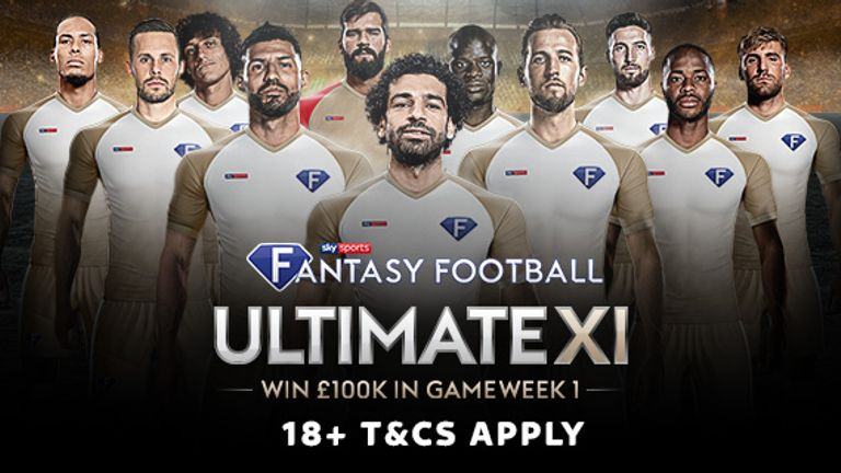 Welcome to Sky Sports Fantasy Football Ultimate XI