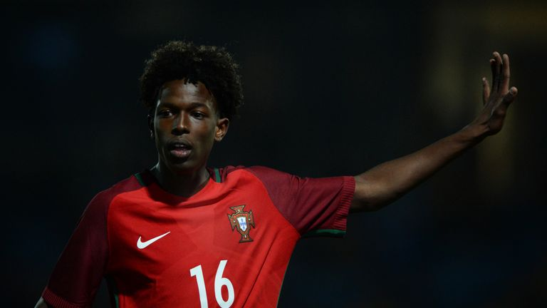 Felix Correia has five caps for Portugal's U19 side
