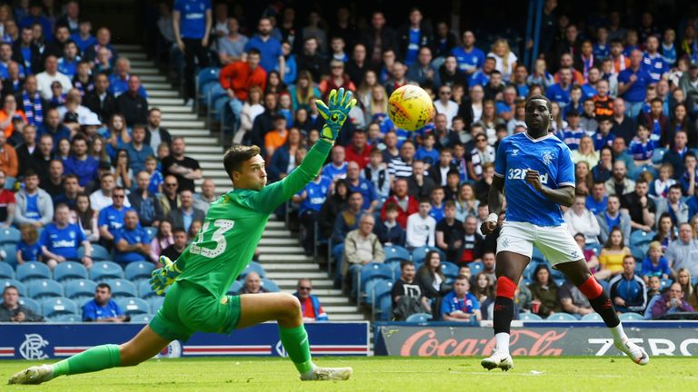 Sheyi Ojo scored in Rangers' friendly win over Oxford United