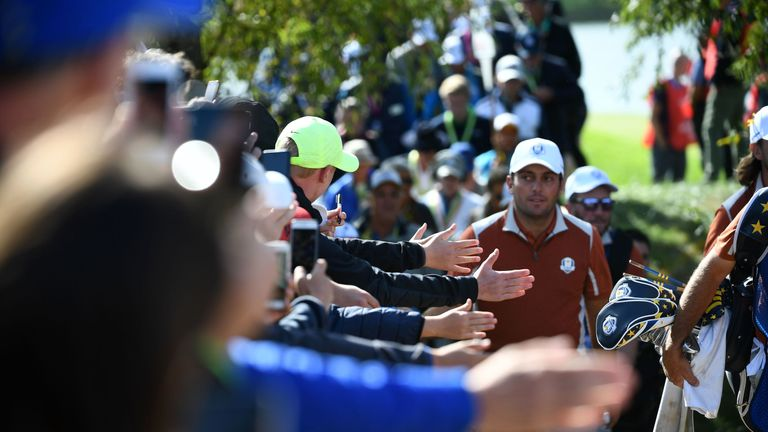 Molinari was a crowd favourite at last year's Ryder Cup