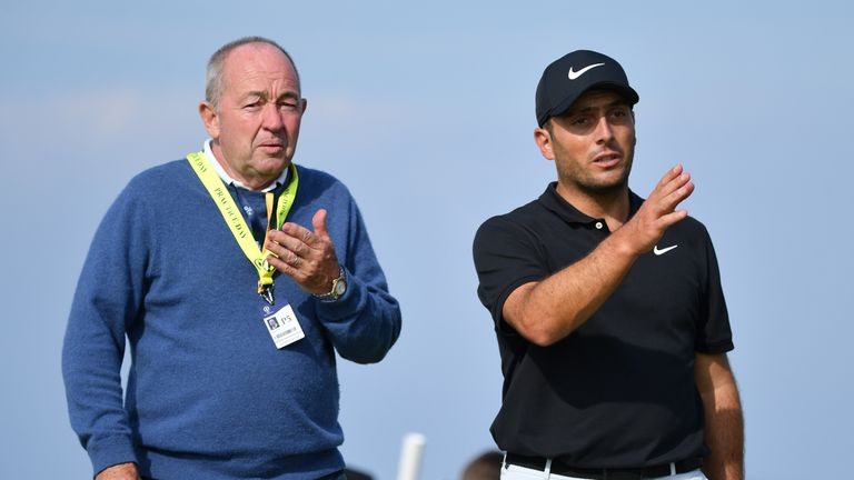 Reigning Champion Golfer of the Year Francesco Molinari has also worked with swing coach Denis Pugh for many years