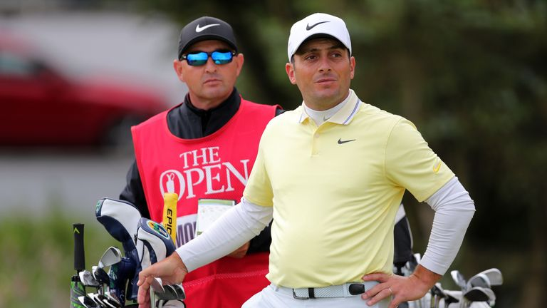 Francesco Molinari has split with his caddie of four years
