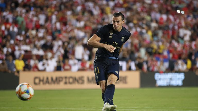 Bale missed from the spot in the penalty shoot-out but enjoyed a good performance from the bench