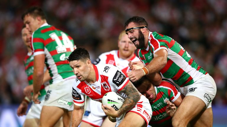 Gareth Widdop is heading to Super League with Warrington