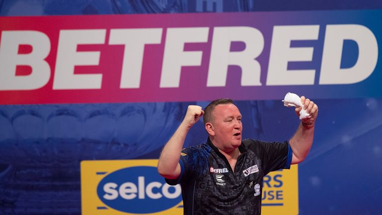 Glen Durrant has already dumped out Adrian Lewis, Michael van Gerwen and James Wade on his Blackpool bow