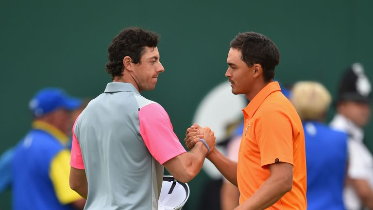 McIlroy won the two final majors of the year in 2014, where Fowler contended