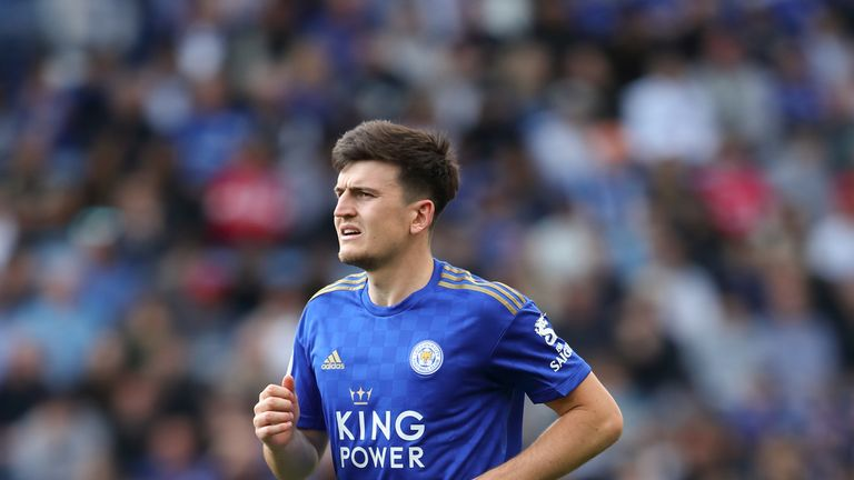 Harry Maguire to Man Utd or Man City? Leicester not planning to sign replacement