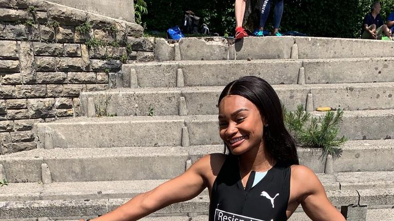 Imani Lansiquot has become the fourth fastest woman in Britain