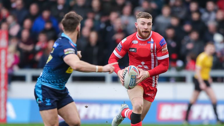 Jackson Hastings will replace George Williams at the DW Stadium next year