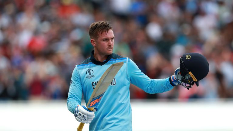 Highlights from Edgbaston as England hammered Australia to reach Sunday's Cricket World Cup final at Lord's.