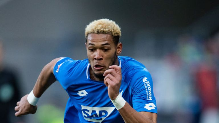 Joelinton will wear the No 9 shirt for Newcastle