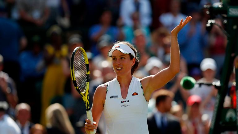 Johanna Konta's form is gathering pace at the speed of knots