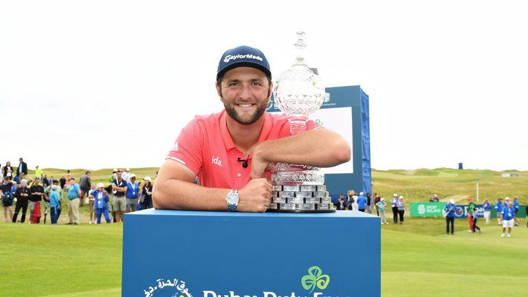 Rahm won the 2019 Dubai Duty Free Irish Open at Lahinch