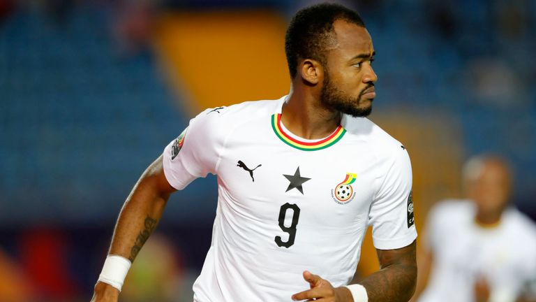 Ayew has made 58 appearances for Ghana