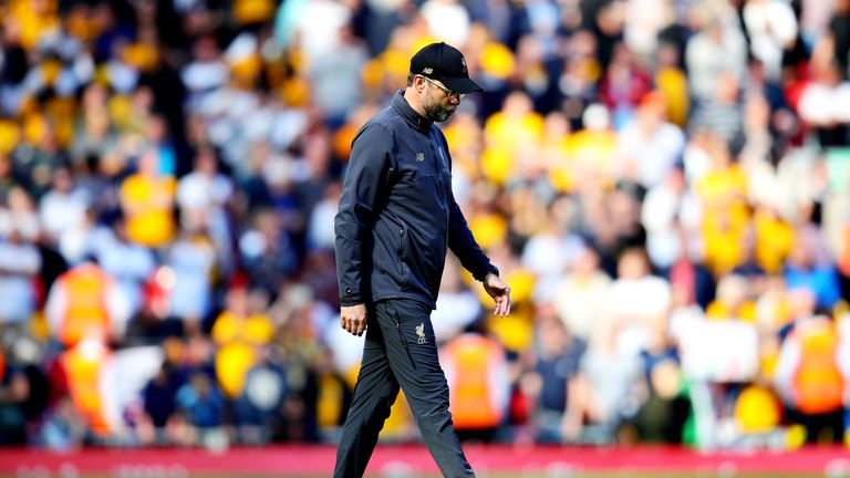 Jurgen Klopp's Liverpool missed out on the Premier League title by a single point in 2018/19