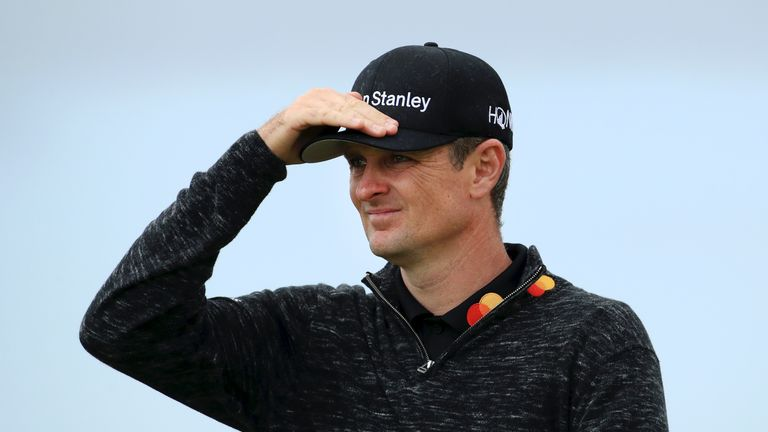 Justin Rose finished tied for second in last year's Open