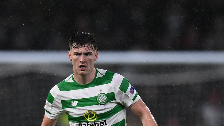 Kieran Tierney has been the subject of two bids from Arsenal