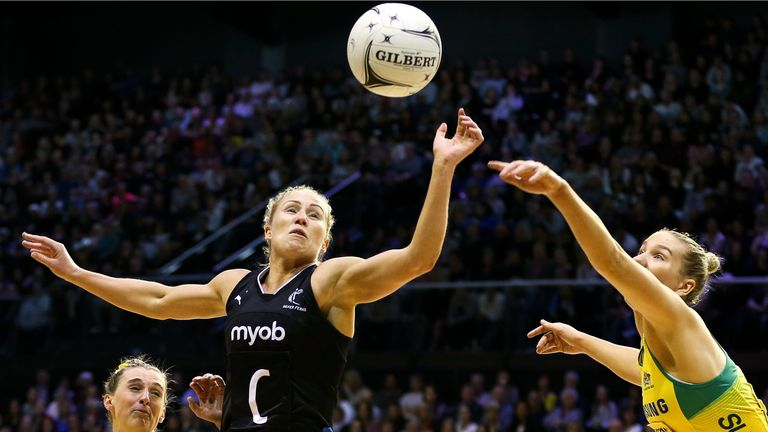 Laura Langman is Mikki Austin's key player when it comes to New Zealand's semi-final