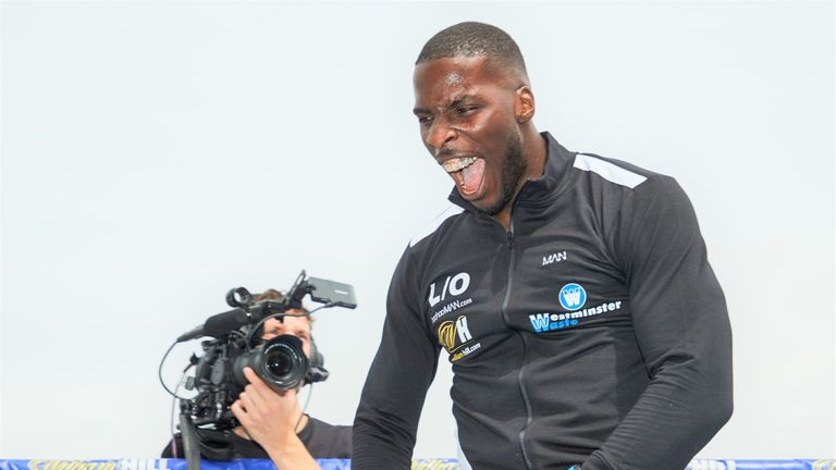 Lawrence Okolie also appears on undercard at The O2
