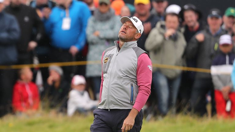 Lee Westwood finished fourth at The Open
