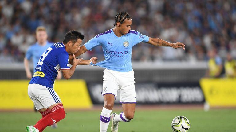 Leroy Sane in action against Yokohama