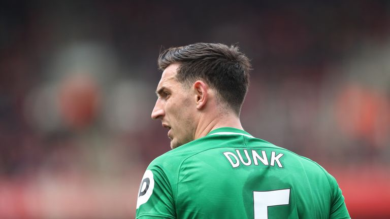 Leicester do not have Lewis Dunk on their list of centre-back targets