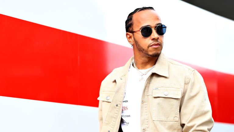 Lewis Hamilton excited for 'special' British GP as he chases win record | F1 News