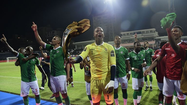 Madagascar stunned DR Congo to reach the last eight