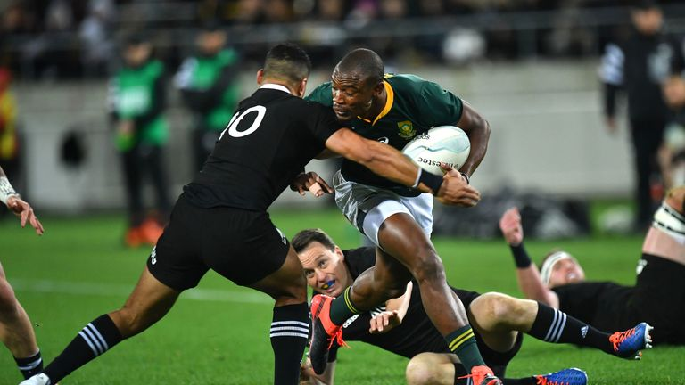 New Zealand 16 - 16 South Africa - Match Report & Highlights