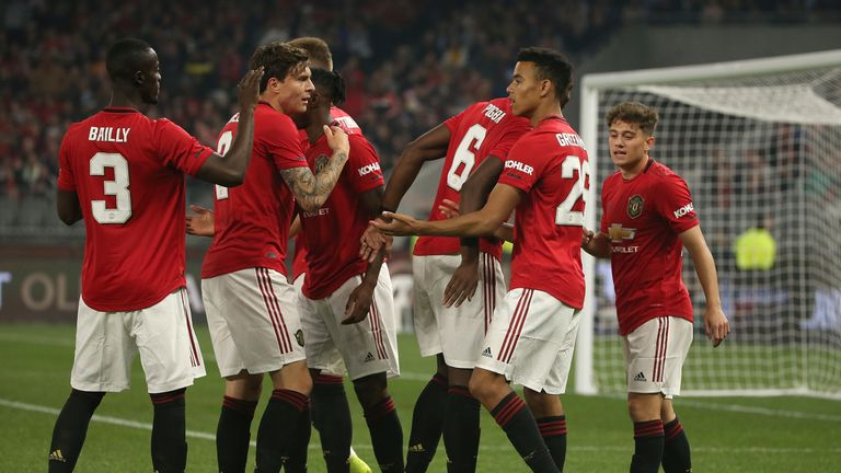 Mason Greenwood set Manchester United on their way to victory over Leeds