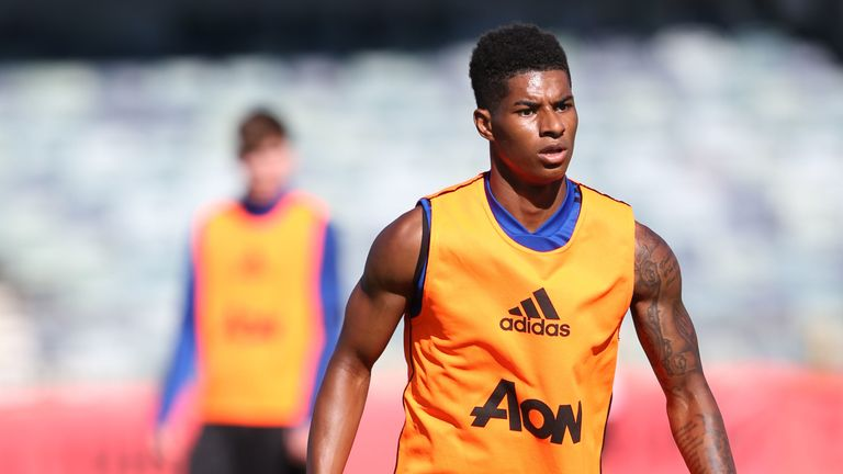 Rashford says United's fitness is far better than it was at this stage last summer