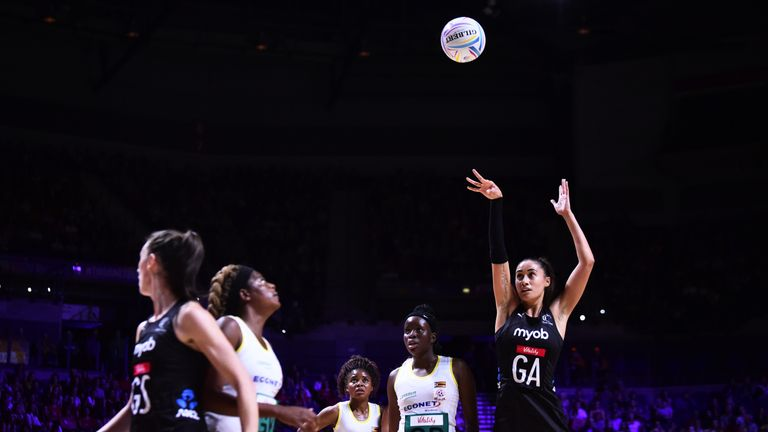 Maria Folau made her debut for the Silver Ferns in 2005