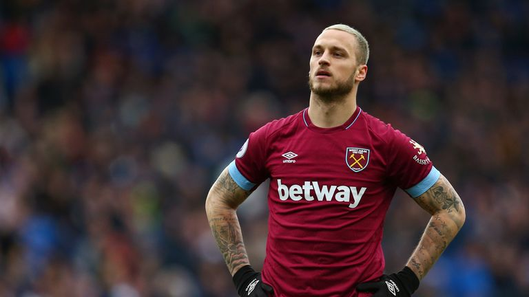 Marko Arnautovic left West Ham for the Chinese Super League