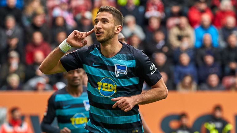 Marko Grujic scored five goals in 22 Bundesliga appearances for Hertha Berlin last season, and is part of Liverpool's plans for the 2020/21 season