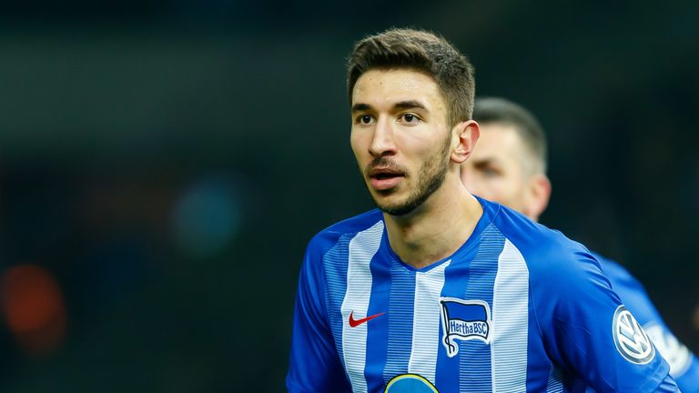 Marko Grujic also spent the 2018-19 season on loan at Hertha Berlin from Liverpool