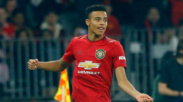 Mason Greenwood scored his first Manchester United goal in the pre-season victory over Leeds