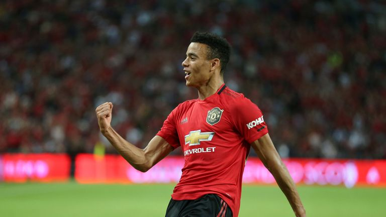 Mason Greenwood has been at Manchester United since the age of seven