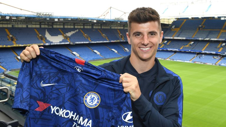 Mason Mount has signed a new five-year contract at Chelsea