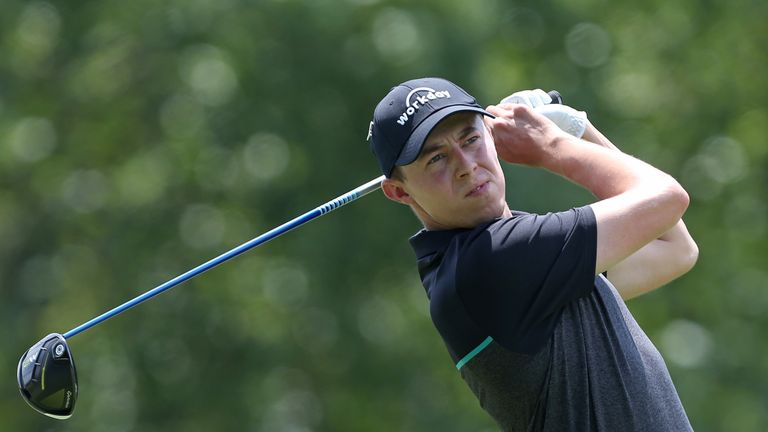 Matt Fitzpatrick eagled the last after a poor run on the back nine