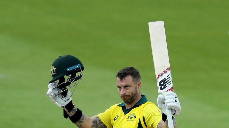 Matthew Wade will replace in Australia's squad
