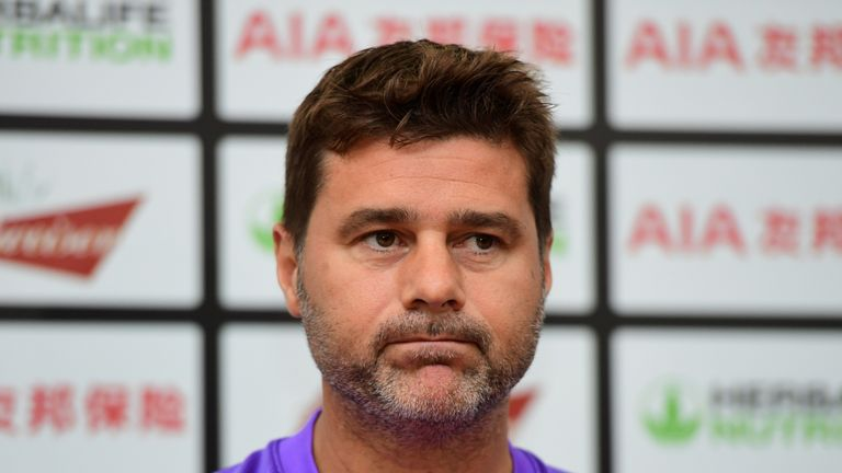 Mauricio Pochettino apologised for some of the tackles made by his Tottenham players