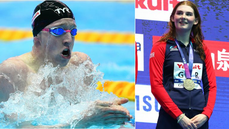 Freya Anderson and Max Litchfield wrap up Swimming World Championships in Korea