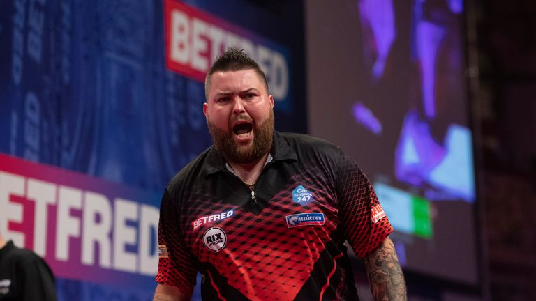 Michael Smith is closing in on reaching a fourth major final inside 18 months