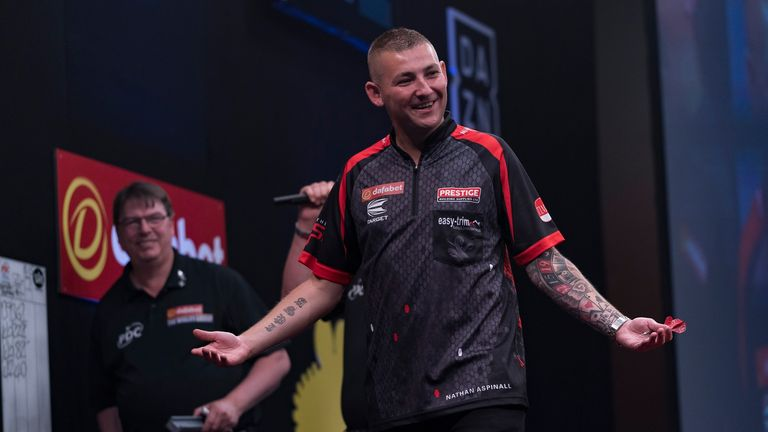 Nathan Aspinall has already claimed two televised titles in 2019