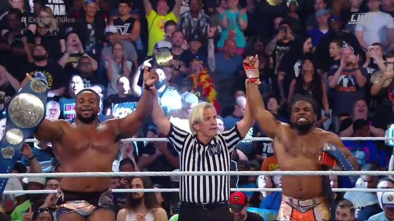 The New Day are today beginning their sixth reign as WWE tag-team champions