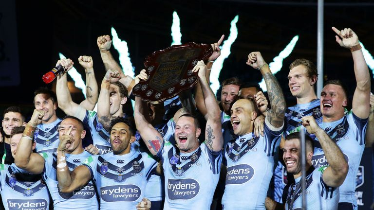New South Wales won a thrilling State of Origin decider in the final seconds in Sydney