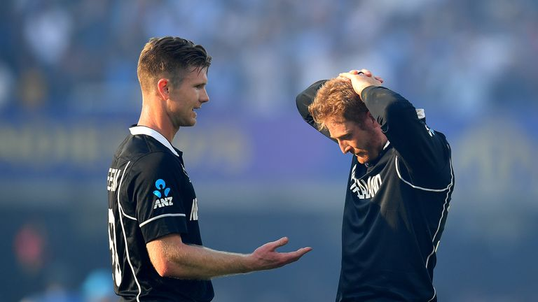 New Zealand lost to England on boundary countback in last summer's Cricket World Cup final at Lord's